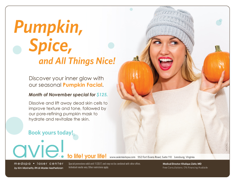 Discover your inner glow with our seasonal Pumpkin Facial!