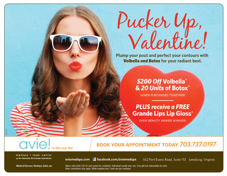 Pucker Up, Valentine!  Get $200 off Volbella and 20 Units of Botox when purchased together