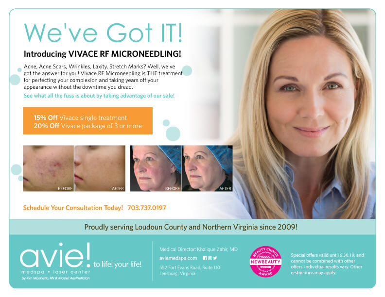 Avie MedSpa Specials for June 2019