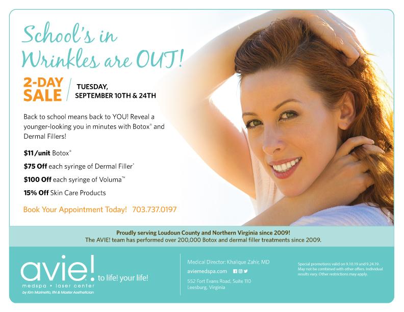 Medical Spa Deals Leesburg VA   Spa Specials VA - Avie Medspa