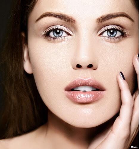 woman with nice smooth skin